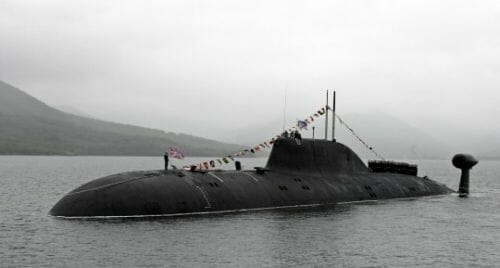 Report: Russian Submarine Patroling Gulf of Mexico