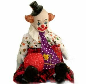 Orphan Haunted Dolls such as Earl (pictured) may look Eerie, but have a heart of gold.