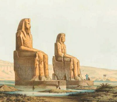 The Singing Colossi of Memnon